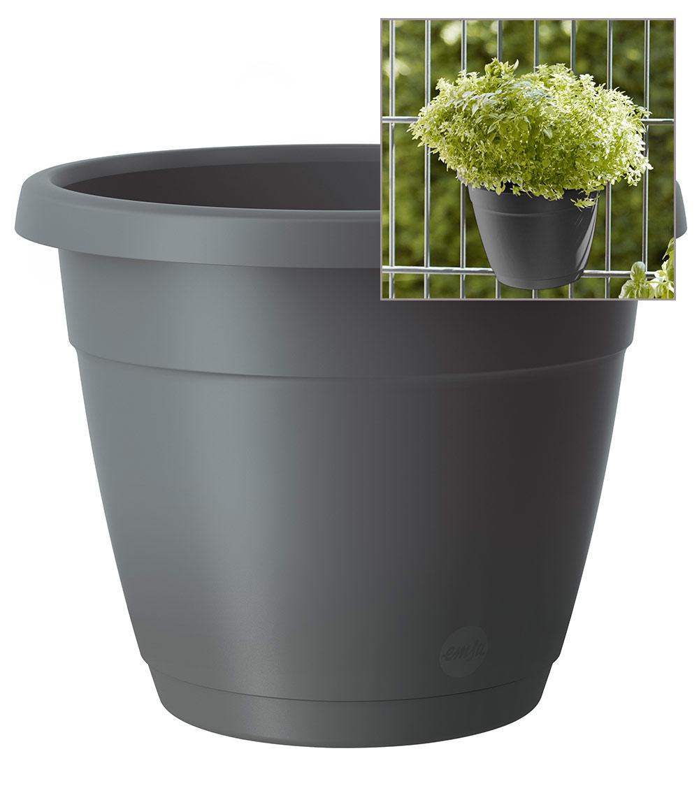 EMSA® 'My City Garden' Blumenkübel, granit ø 20 cm