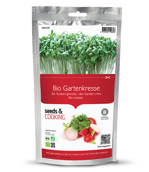 Seeds & Cooking BIO-Gartenkresse