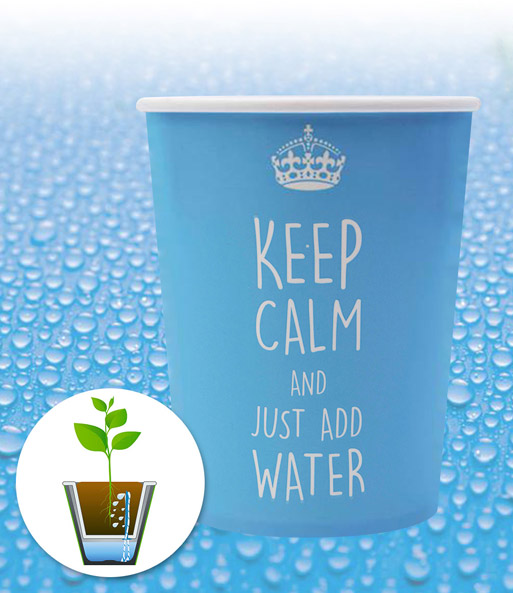 WaterWick® Topfsystem 'Keep Calm'