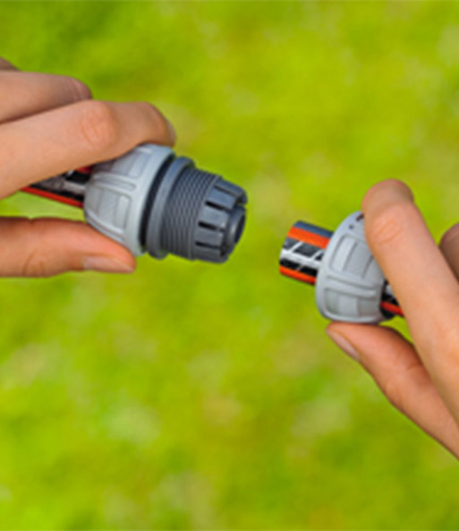 """5//8/"""" GARDENA Reparator Schlauchverbinder 13mm 1//2/"""" - 15mm"""