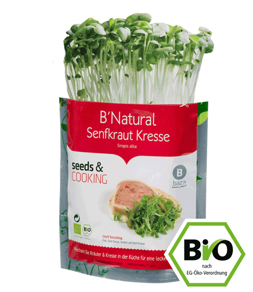 Top Seeds & Cooking BIO-Senfkraut Kress | Sprossen bei BALDUR-Garten NE81