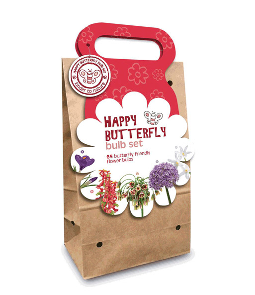 Blumenzwiebel-Kollektion Happy Butterfly 'Rot'