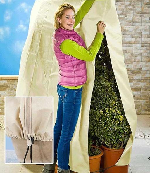 winterschutz vlieshaube f r pflanze winterschutz bei. Black Bedroom Furniture Sets. Home Design Ideas