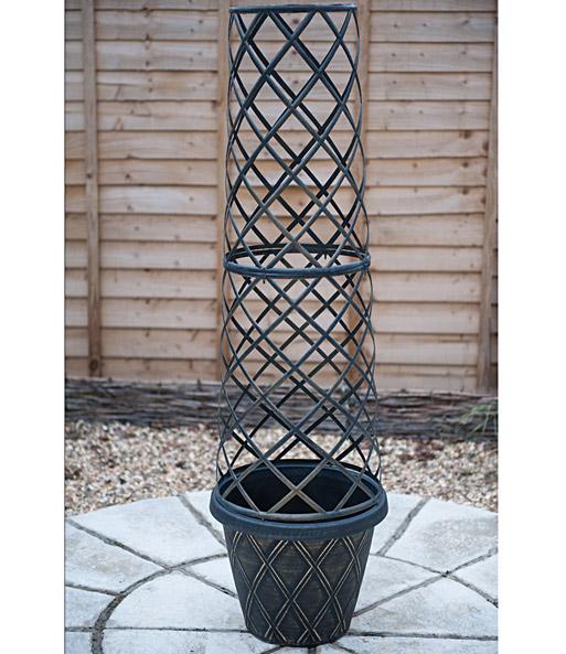 tower pot pflanzk bel bei baldur garten. Black Bedroom Furniture Sets. Home Design Ideas