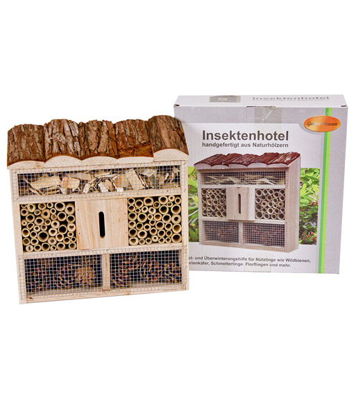 insektenhotel tannenwald top qualit t baldur garten. Black Bedroom Furniture Sets. Home Design Ideas